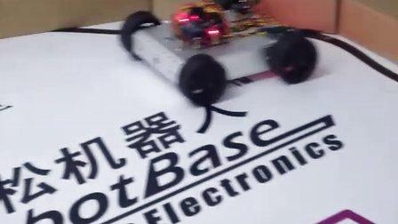 Arduino-4WD移动机器人碰撞功能演示