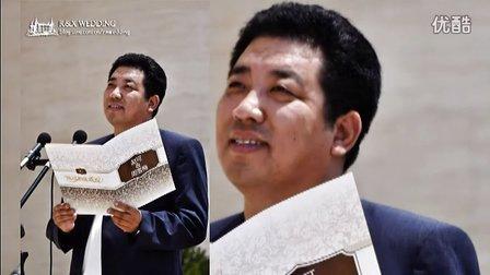 配音教父李易老师证婚!!!史上最贵的证婚环节!