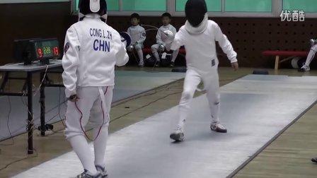 王瀚远击剑比赛视频