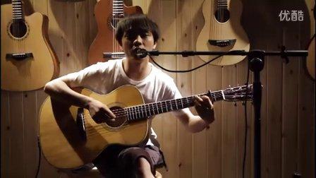 湖南长沙指弹吉他群友会9,谢皇表演弹唱《孩子气》