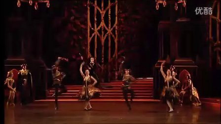 【唐吉尔看芭蕾】天鹅湖Swan Lake 第三幕拿波里舞(ROH)