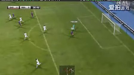 实况2011模拟西班牙国家德比 皇马VS巴萨