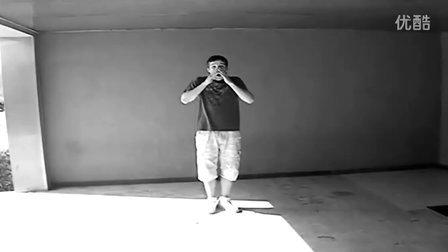"""""""法国面具男""""最新舞步(高清版)MELBOURNE SHUFFLE"""