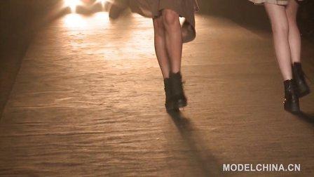 【模特中国】中国国际时装周2014春夏 华孚潘怡良色纺时尚发布会