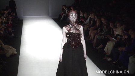 【模特中国】中国国际时装周2014春夏 胡社光高级定制时装发布-下