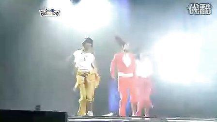 【Lee】少女时代成员yuri.秀英.孝渊 超性感帅气热舞现场