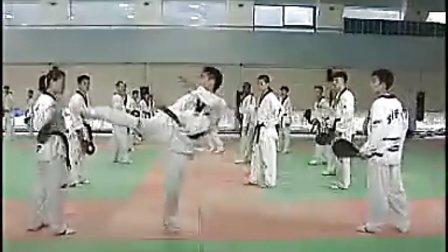 【侯韧杰  TKD  教学篇】之 韩版竞技教案