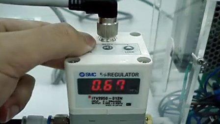 SMC 电气比例阀操作视频