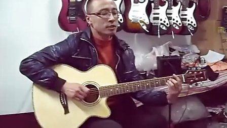 吉他弹唱 经典《对不起我爱你》【超具魅力的声线】