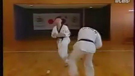【侯韧杰  TKD  教学篇】之日版跆拳道2
