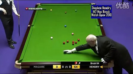 Stephen Hendry 147 Snooker Welsh Open 2011