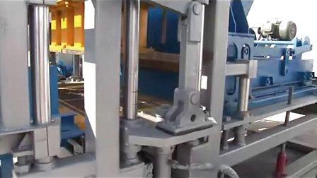 多功能免烧砖机生产视频