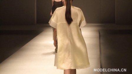 【模特中国】中国国际时装周2014春夏 黄李勇时装发布会