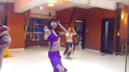 常州肚皮舞 艾玛舞蹈工作室 每周五晚学员练习展示 DIDI