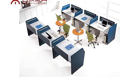 厂价直销越秀区办公桌【五年保修】越秀区办公室玻璃隔断图片