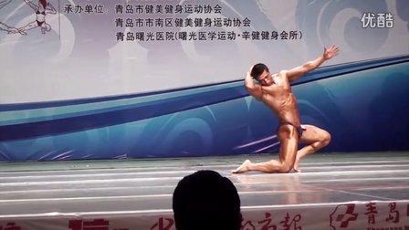 2011山东健美锦标赛90KG冠军吴帆个人表演
