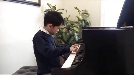 黎安宙弹奏巴赫二部创意曲第一号
