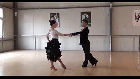 2013年湖北省体育舞蹈协会青少年拉丁舞技术等级考试教学1 D