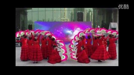 蠡县第二届广场舞-东庞果庄舞蹈队-文广新原创