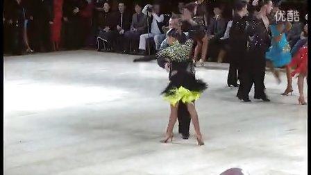 VTS2013年UK大赛 拉丁舞 职业业余 2 D 比赛