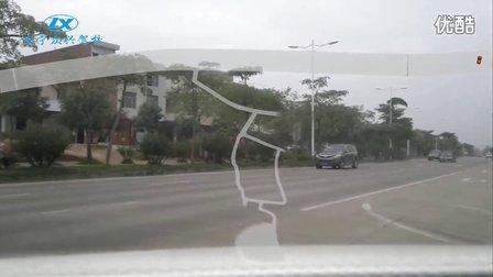 南宁市三塘科三路考 路况视频超高清