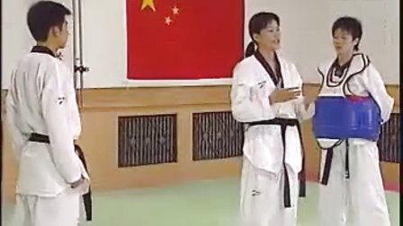 【侯韧杰  TKD  教学篇】之五级段冠军技术