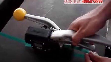 FROMM P403 手动咬扣塑钢带打包机打带机打捆机的操作说明