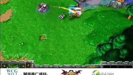 三星WCG2011外卡赛fly_vs_sky 第一场
