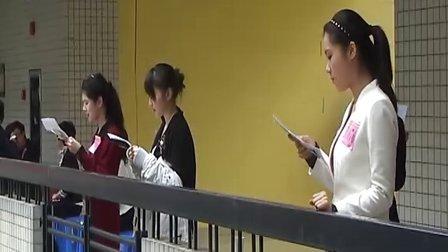 广州大学新闻与传播学院2011艺考招生考试顺利进行