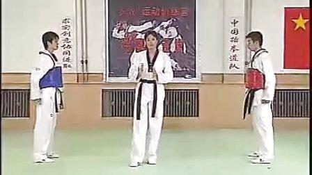 【侯韧杰  TKD  教学篇】之 二段冠军技术