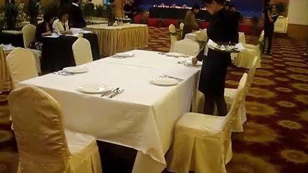 台州西餐摆台比赛
