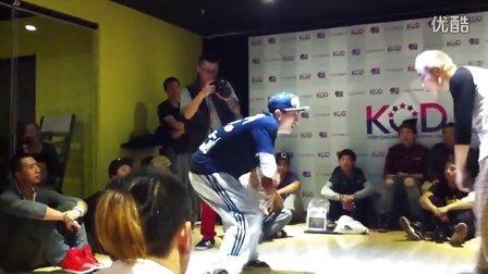 北京舞佳舞三里屯新店开张popping比赛冠军赛