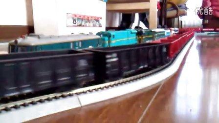 SS4牵引货列