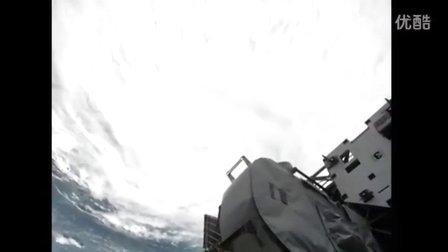 【放放上传】NASA公布从太空中拍摄飓风艾琳视频