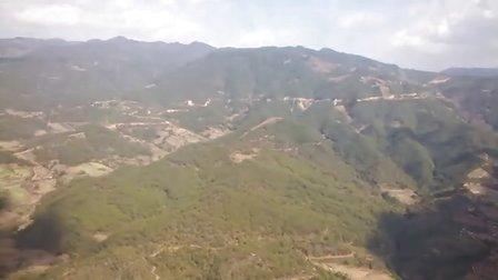 直升机航拍 景谷傣族彝族自治县