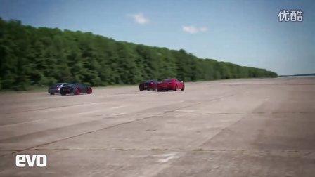 McLaren、法拉利、保时捷、Noble最新欧洲超跑直线加速测试