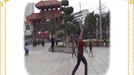 博白广场舞-咱们屯里的人(反面)