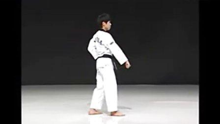 【侯韧杰 TKD 教学篇】之 太极品势三章