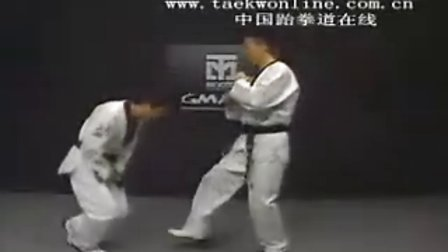 Front kick to groin