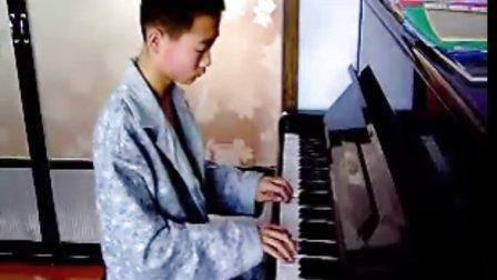钢琴八级考级曲目(巴赫三部创意曲NO.4)