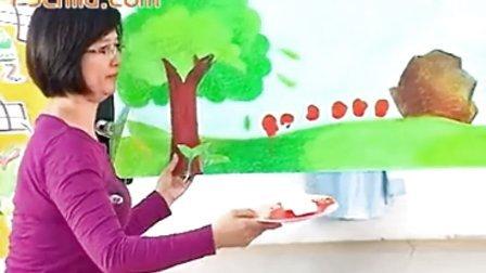 厦门市湖里区东渡幼儿园美术活动《有趣的毛毛虫》