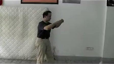 姚承荣老师在江苏宿迁中意武馆讲解浑元桩要点