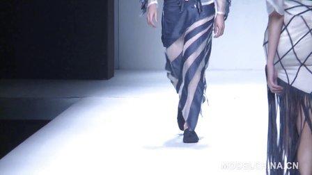 【模特中国】中国国际时装周2014春夏 V-PULL牛仔装发布会