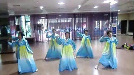 轻舞飞扬超越健身朝鲜舞蹈
