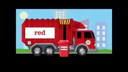 儿童英语 动画 颜色学习 红色  纯正美式发音