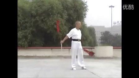 张世玉演练鸳鸯双剑