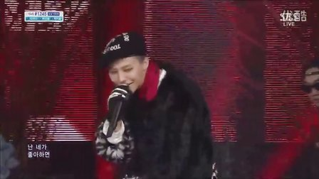 [YG录播]131103_GD-人气歌谣-(BLACK) (WHO YOU)(CROOKED)