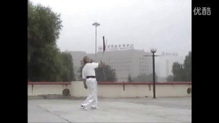 张世玉演练鱼尾剑
