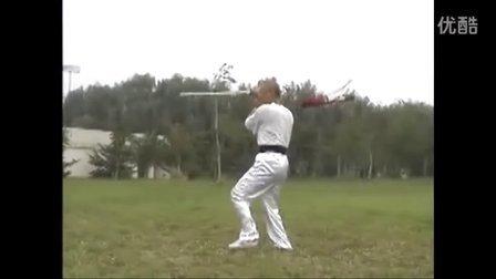 张世玉演练青龙剑