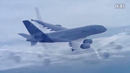 空客A380客机的机翼竟然如此柔软